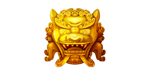 Traditional golden dragon symbol in Eastern Emeralds